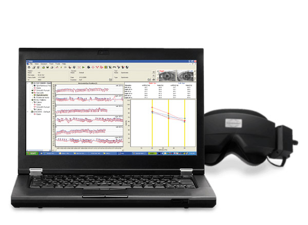 Аппарат для видеонистагмографии